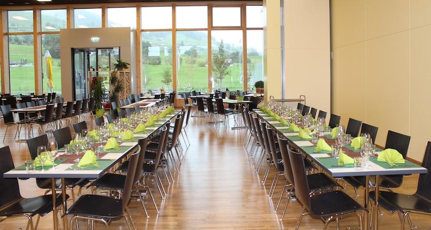 Erlenmoos-Saal und Restaurant